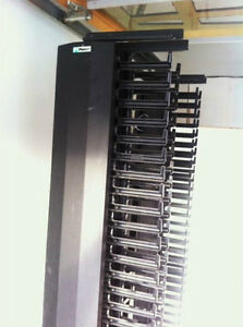 PANDUIT CABLE MANAGEMENT RACK with VERTICAL CABLE MANAGERS Oakville / Halton Region Toronto (GTA) image 4