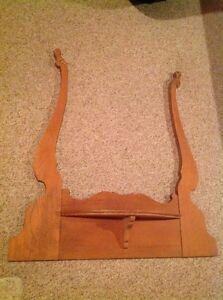 Antique Wooden Mirror Holder