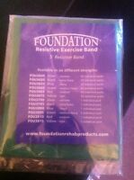 Unopened pack of resistive bands for physiotherapy $5