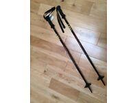 BRAND NEW WITH TAGS High Spec Leki TS Speedy Ski Poles (Junior Hill Walking Sticks)