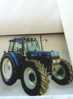 Tracteur New Holland 7740