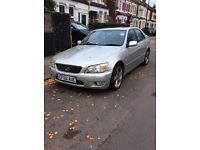 Lexus IS 200 2.0 SE 4dr FSH+CRUISE CONTROL+NEW MOT+FULL SERVICE HISTORY