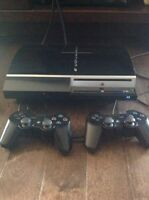 Ps3, 2 controllers and 5 games