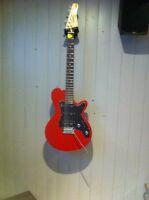 Godin Model SD  (Red)