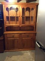 Top of a Wood Hutch for sale