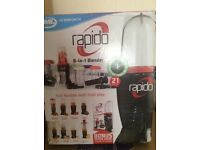 Rapids 8 in 1 blender ( brand new boxed and unopened)