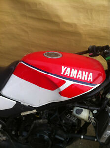 YAMAHA RZ350 86COMPLETE SET OF BODY WORK INCLUDING THE FUEL TANK
