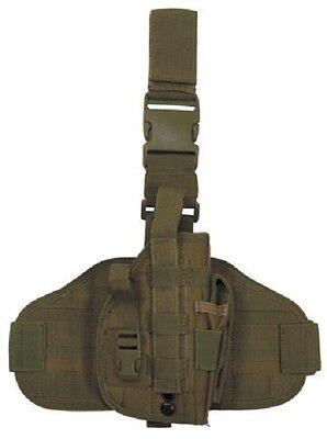 US MOLLE Army Pistolenbeinholster Holster mit Bein und Gürtelbefestigung Coyote