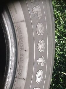 All seasons Firestone A/T tires for sale - 275 65R18 Gatineau Ottawa / Gatineau Area image 2