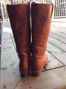 Brown Leather Boots Strathcona County Edmonton Area image 2