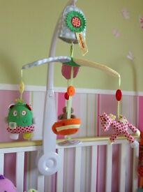 Gingerbread man Cot mobile & Extras