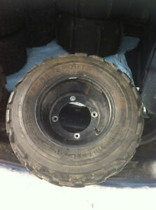 YAMAHA BLACK ITP FRONT WHEELS WITH PURE SPORTS TIRES Windsor Region Ontario image 3