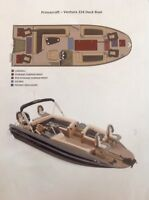 Beautiful and versatile deck boat for sale