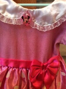 Size 2T Minnie Mouse costume