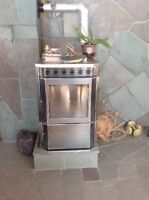 Pellet stove used two months only