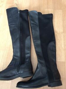 FRANCO SARTO tall leather riding boots size6.5 London Ontario image 4