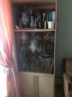 2 Bibliothèques Etagères Glass Bookcases Excellent Condition