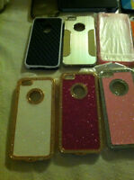 NEW IPHONE 5 AND 5S PHONE CASES / $5.00 EACH!!!