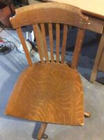 Antique bankers chair .....must go