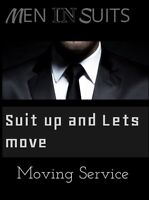 Men in Suits.  Moving Services