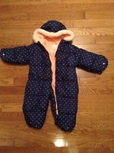 Brand new Toddler girl snowsuit/ bunting suit London Ontario image 2