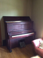 *Reduced* Antique Heintzman Player Piano