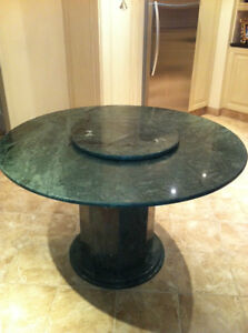 50 Inch Round Granite Table West Island Greater Montréal image 1