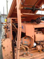 WINCH/LUGGER 1000' OF CABLE HEAVY HYDRAULIC UNIT