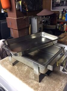 Food trays/warmers fuel canisters $100 Cornwall Ontario image 3