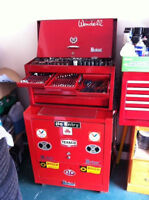 Professional mechanics tool set and chest, just like new !