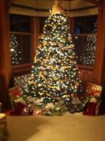 9 foot giant artificial Chistmas tree