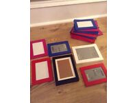 Variety of photo frames for sale!!
