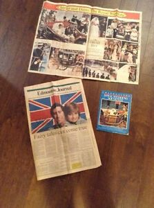 1981 Royal Wedding newspaper & magazine