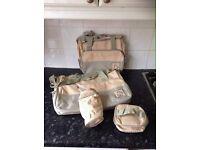 Brand new changing bag set