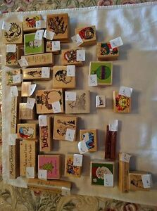 Assorted Christmas-Themed Rubber Stamps - $1.00 and Up Kawartha Lakes Peterborough Area image 1