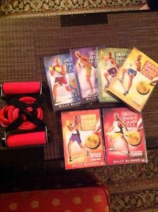 COMPLETE 6 PACK CD'S + BILLY BANDS BOOT CAMP FITNESS SYSTEM