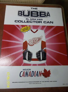 2002 Red Wing NHL Bubba Can with Signage + Other Bubbas Windsor Region Ontario image 1