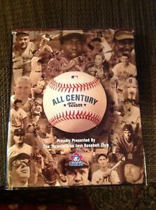 ALL CENTURY TEAM  BASEBALL HARDCOVER BOOK