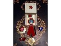 Antique vintage Soviet military medals / badges
