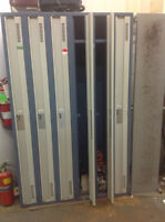 OFFICE FURNITURE FOR SALE -  LOCKERS