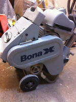 "Bona  X 10"" drum belt sander. NEW REDUCED PRICE!!!"