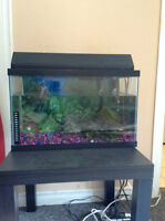 10 Gallons glass fish tank for $35