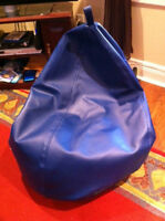 Navy Blue Bean Bag Chair