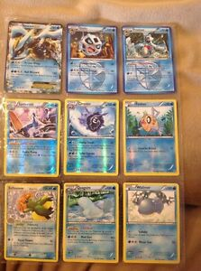 479 Pokemon Cards And Two Tins