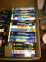 33 VHS Tapes