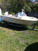boat and trailer $400 obo