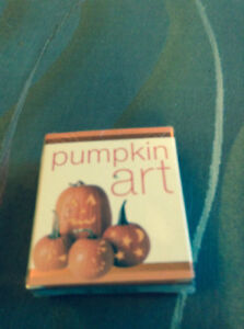 NEW PUMPKIN ART KIT IN WRAPPING