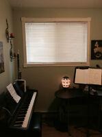 Cours de musique selon vos goûts, violon, piano, chant, saxo!