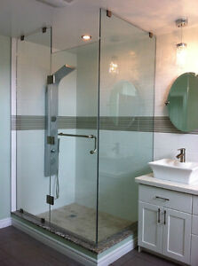 Glass Shower door $150 ! sliding shower door $229!