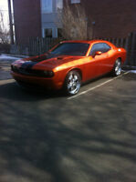 2011 Dodge Challenger Sxt Plus Orange Toxic